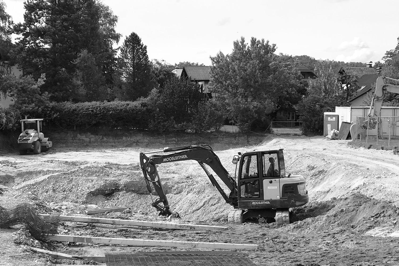 Baustart, Wohnbau Albert-Birkle-Straße Salzburg