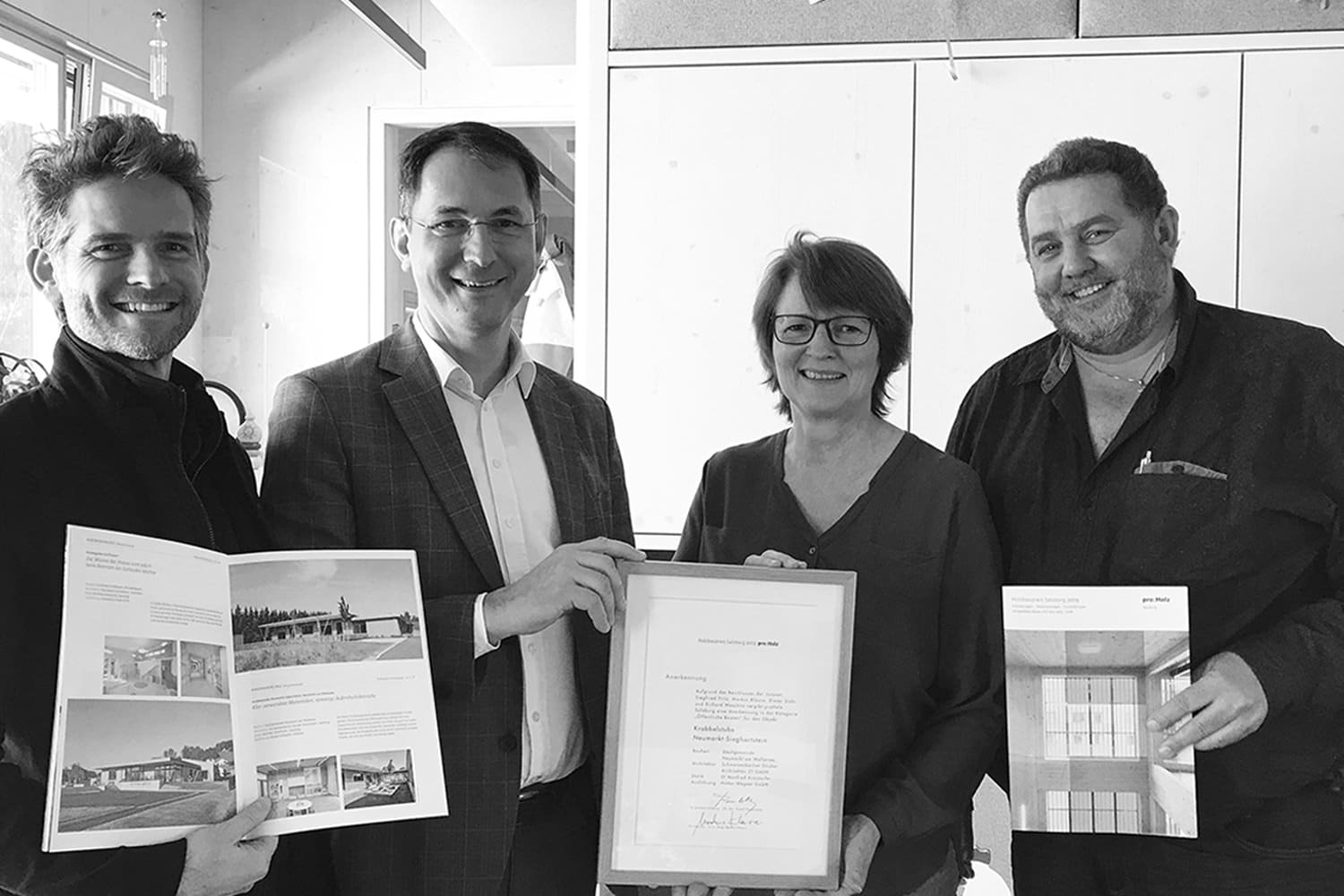Timber construction award 2019, recognition