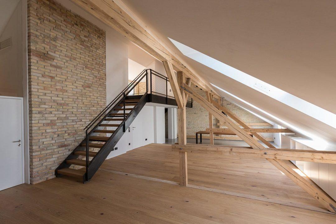 Dachgeschossausbau Linzergasse