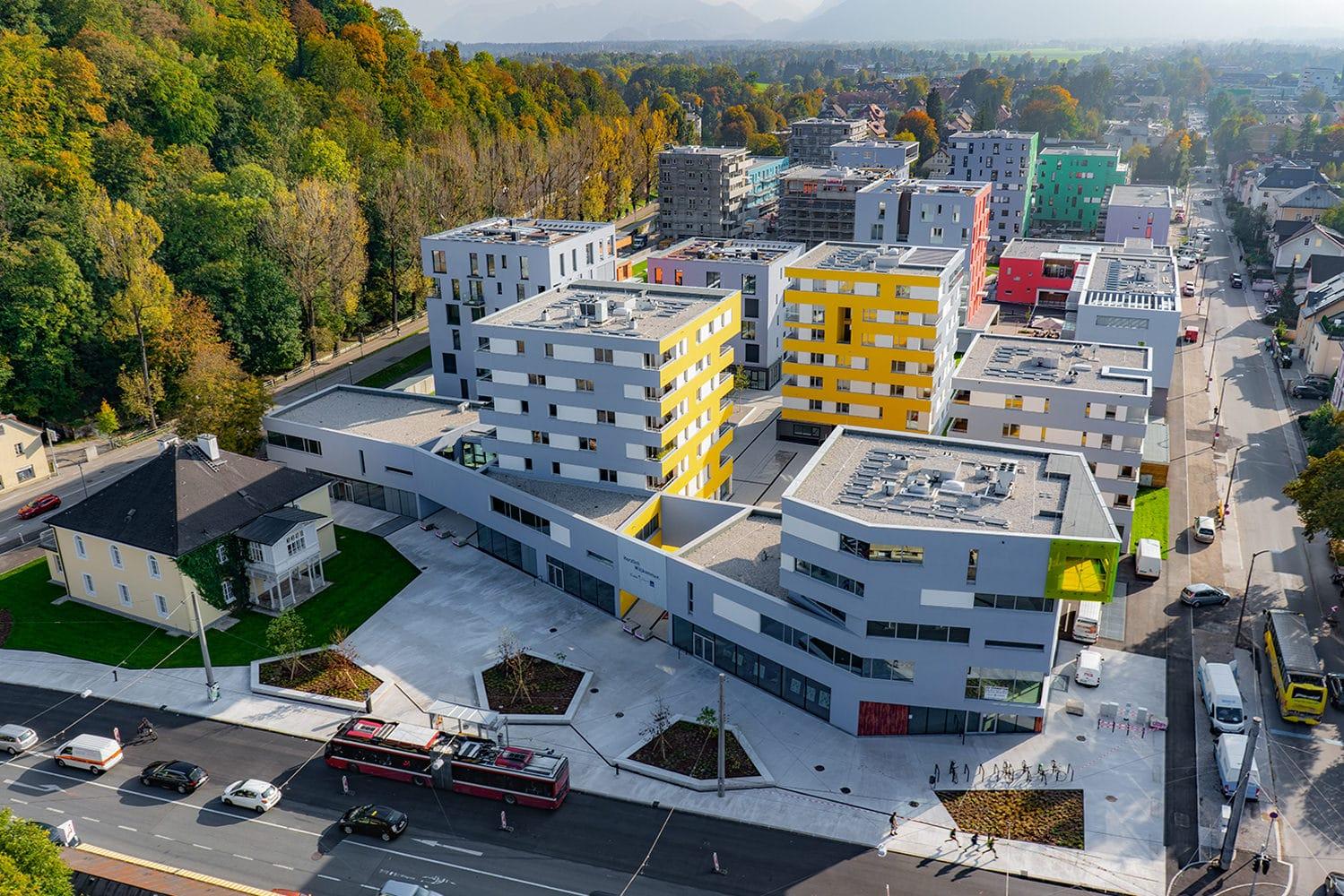 Eröffnung Riedenburg, Bauteil Nord 2018