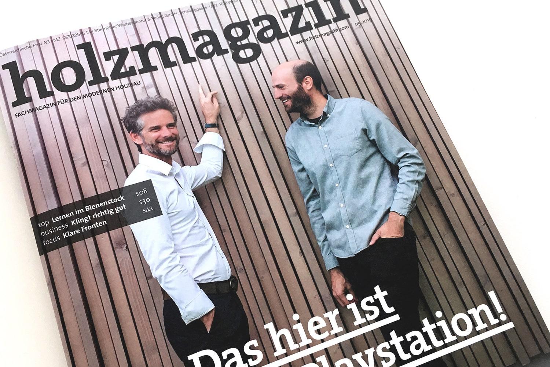 Titelstory Holzmagazin , Ausgabe 05.2019