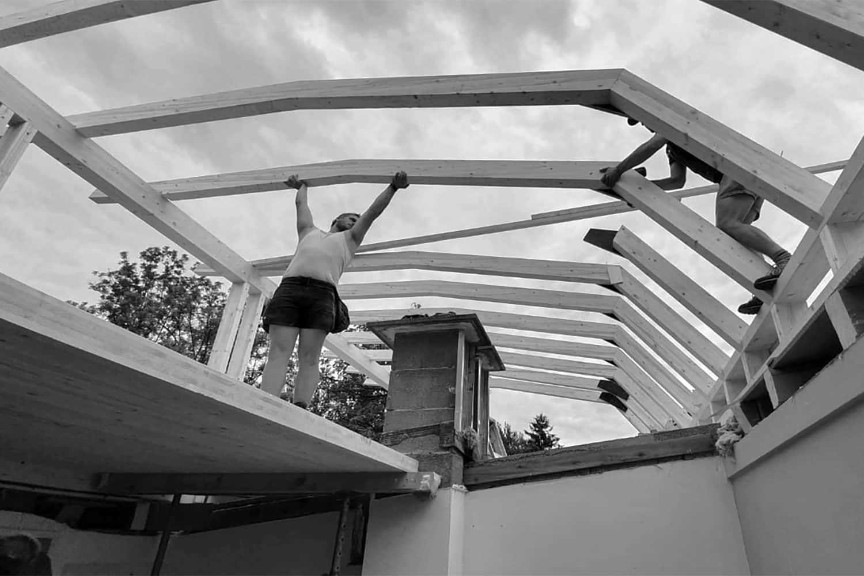 Dachgeschossausbau, in Salzburg Aigen
