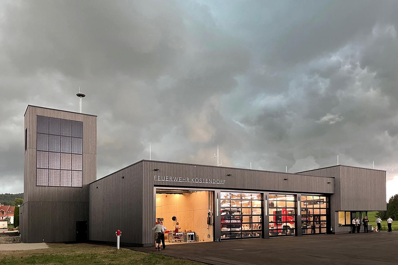 Opening, Fire station Köstendorf