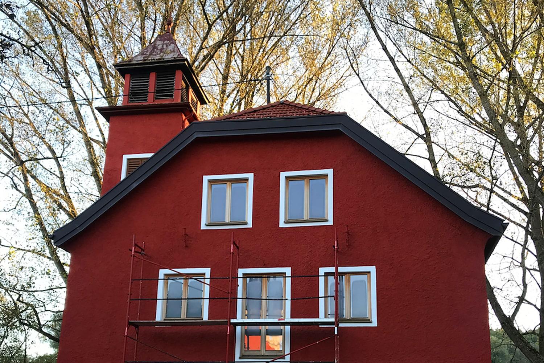 Erstrahlt in neuem Glanz, ehemaliges Feuerwehrhaus
