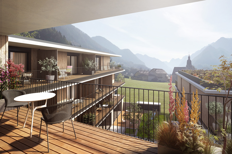Residential development, Wohnen am Tennengebirge